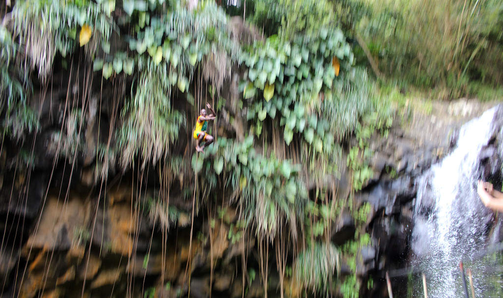 Cliff Jumpers at Annandale Falls