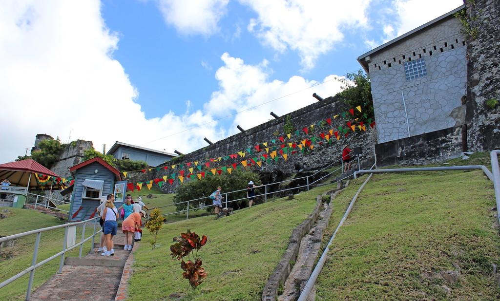 Fort George Exterior