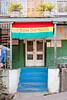 Colorful buildings in St. George's, Grenada, West Indies.
