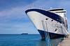 The cruise ship Celebrity Millennium in port at St. George's, Grenada, West Indies.