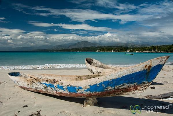 Fishing Boats in Port Salut, Haiti