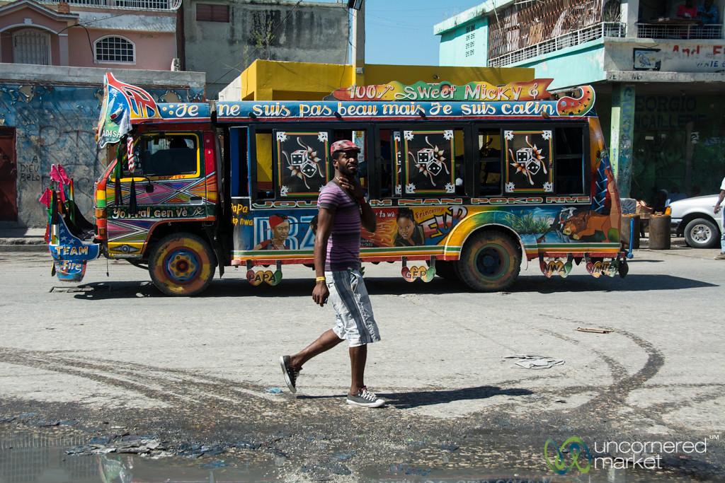 Street Scene in Port au Prince, Haiti