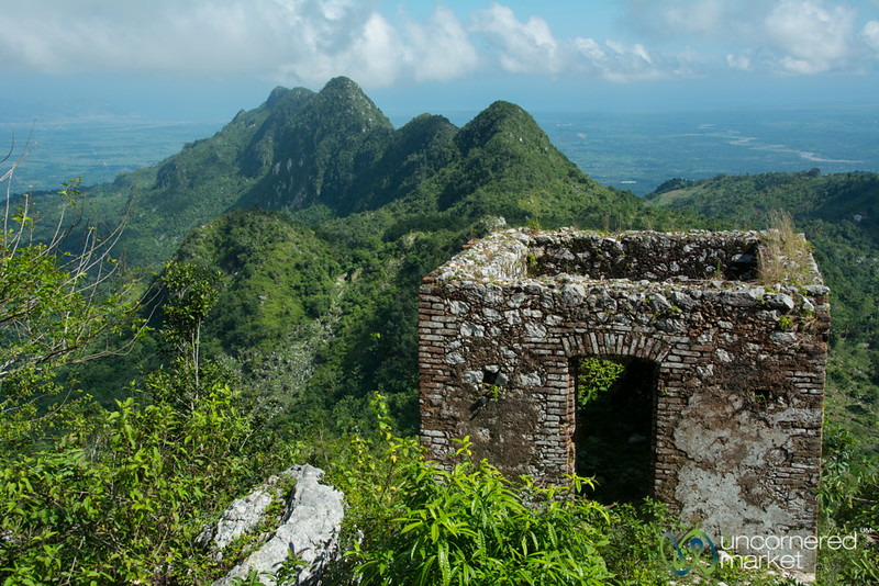 Rubbled Guard House of Citadelle Laferrière - Northern Haiti