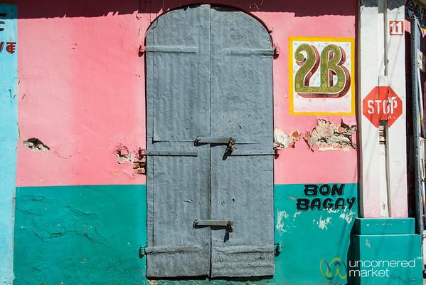 Colorful Doorways in Cap-Haïtien, Haiti