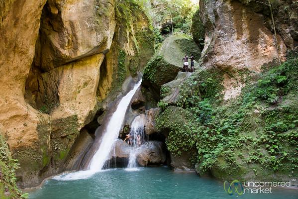 Bassin-Bleu Waterfall - Jacmel, Haiti