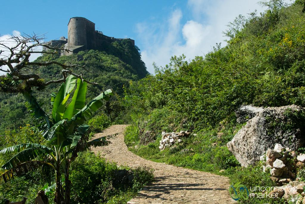 Walking Up to Citadelle Laferrière - Haiti