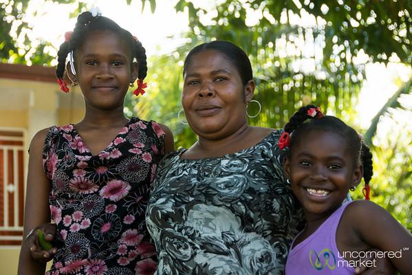 Lélène and her Daughters - Petit-Goave, Haiti