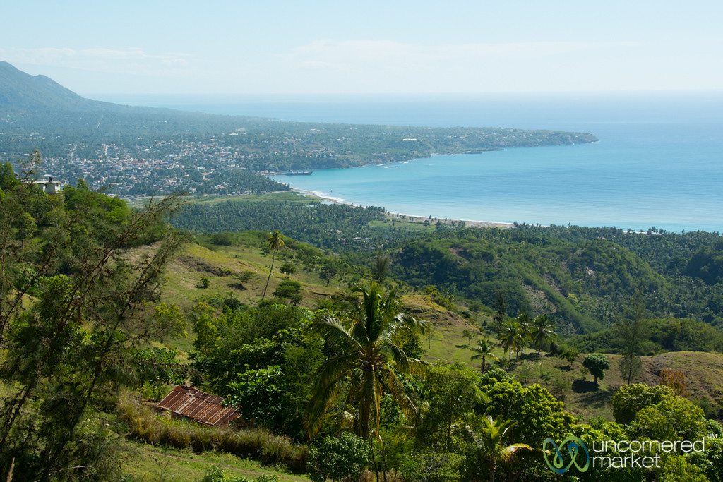 View of Haiti's Southern Coast, in the Hills Above Jacmel
