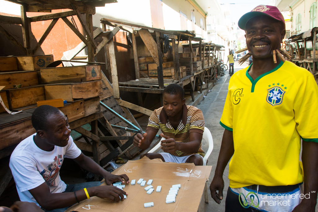Losing at Dominoes - Cap-Haïtien, Haiti