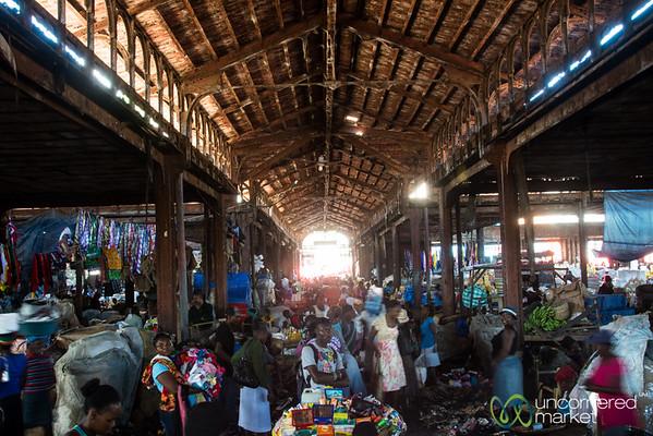 Market Scene in Cap-Haïtien, Haiti