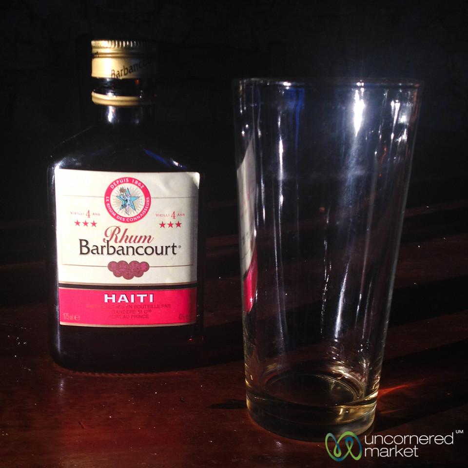Barbancourt Rum, Great for Drinking Straight - Haiti