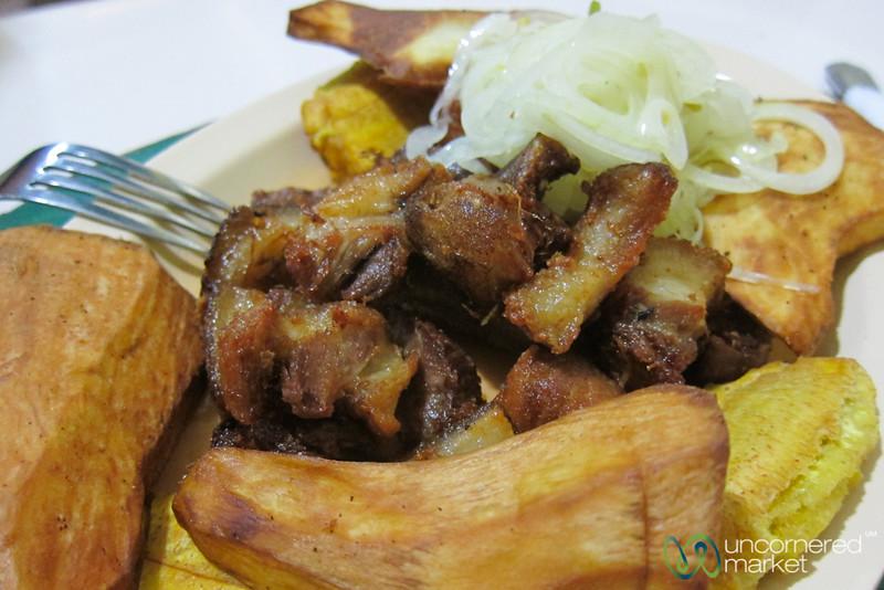 Haitian Fried Pork (Griyo) - Port-au-Prince, Haiti