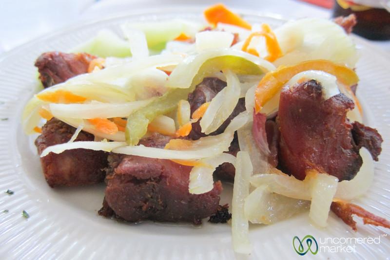 Haitian Griyo (Fried Pork) - Port-au-Prince, Haiti