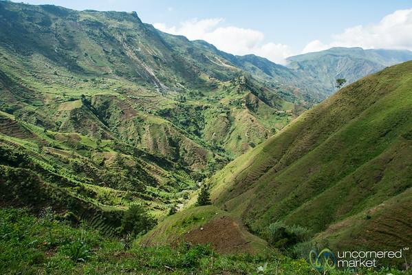 Mountainous Haiti, en route to Port-au-Prince