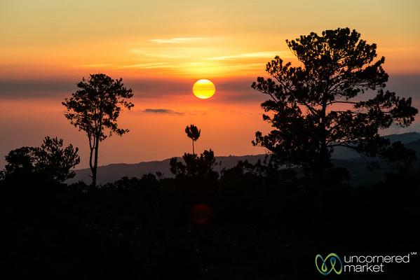 Sunset at Mare Rouge, Haiti