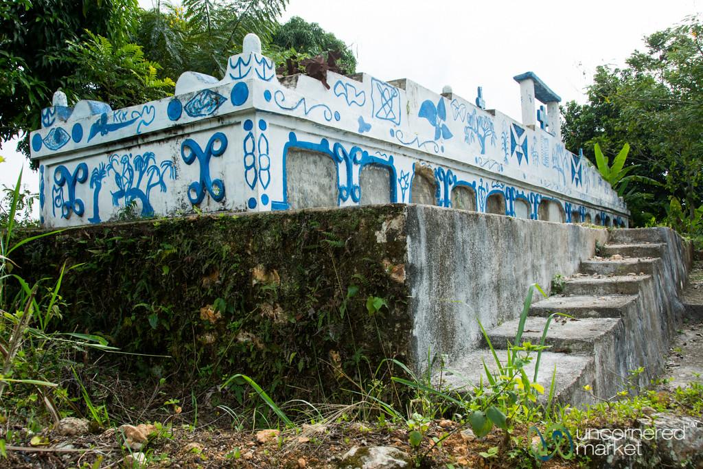 Rural Haitian Tombstone