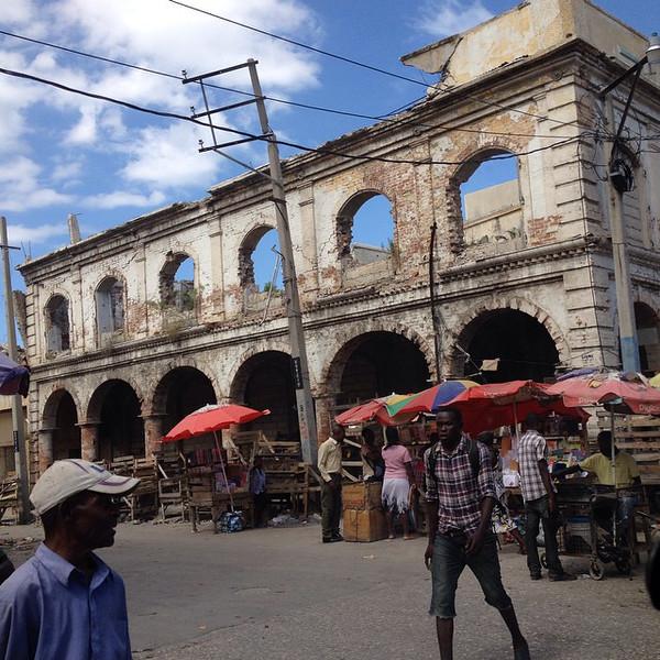 Port-au-Prince, Sunday street life intersecting Grand Rue near the Marche en Fer (Iron Market). #Haiti via Instagram http://ift.tt/1vet4Eo