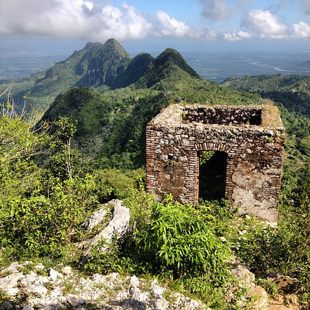 Haiti, a taste of the mountainous north. This, an old guard house in the shadow of the Citadel Laferrière outside of Cap-Haïtien. via Instagram http://ift.tt/1upBAjT
