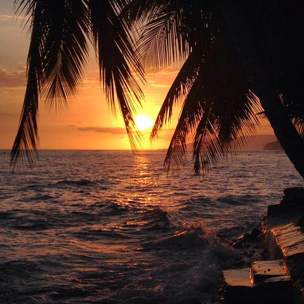 A view from my day-ending beer. Sunset, Haiti style. Kabik Beach, Jacmel Cayes. How to beat the #polarvortex via Instagram http://ift.tt/1HhcTv5