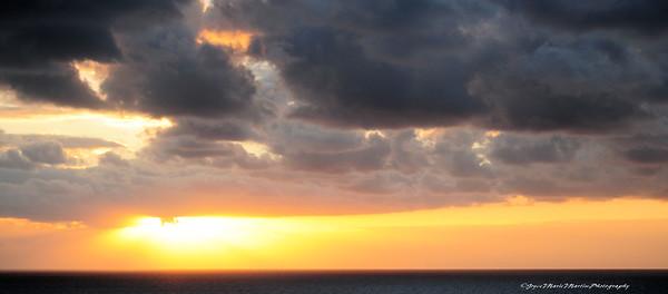 Sunrise at Half Moon Cay