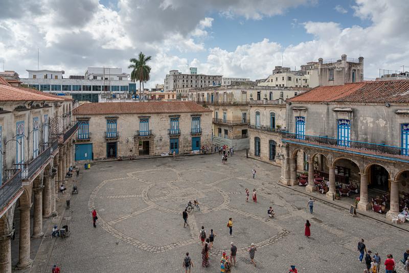 Plaza de la Catedral.