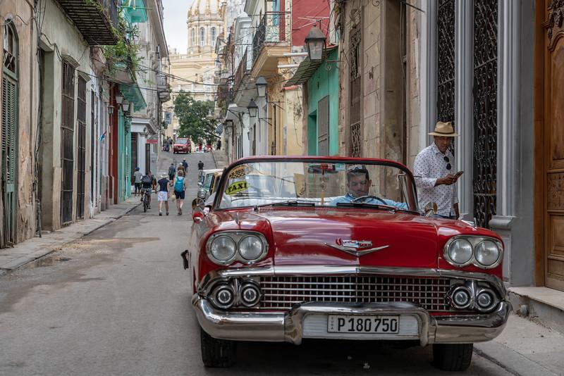 Chevy taxi, Habana Vieja.