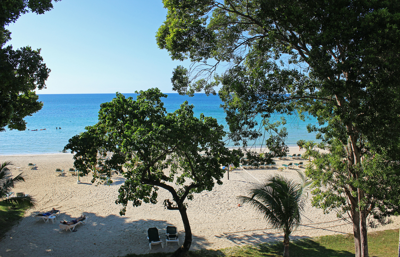 Hotel Review - Riu Palace Tropical Bay - View from the balcony to Bloody Bay Jamaica