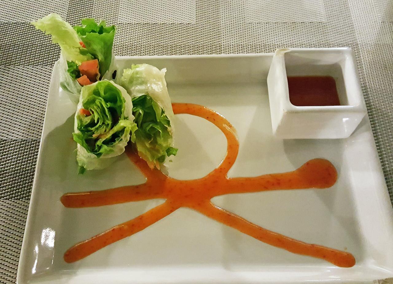 Dinner at the Japanese Restaurant