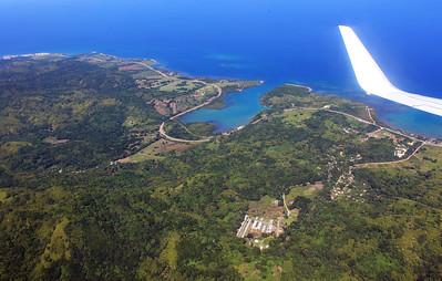 Flying to Montego Bay