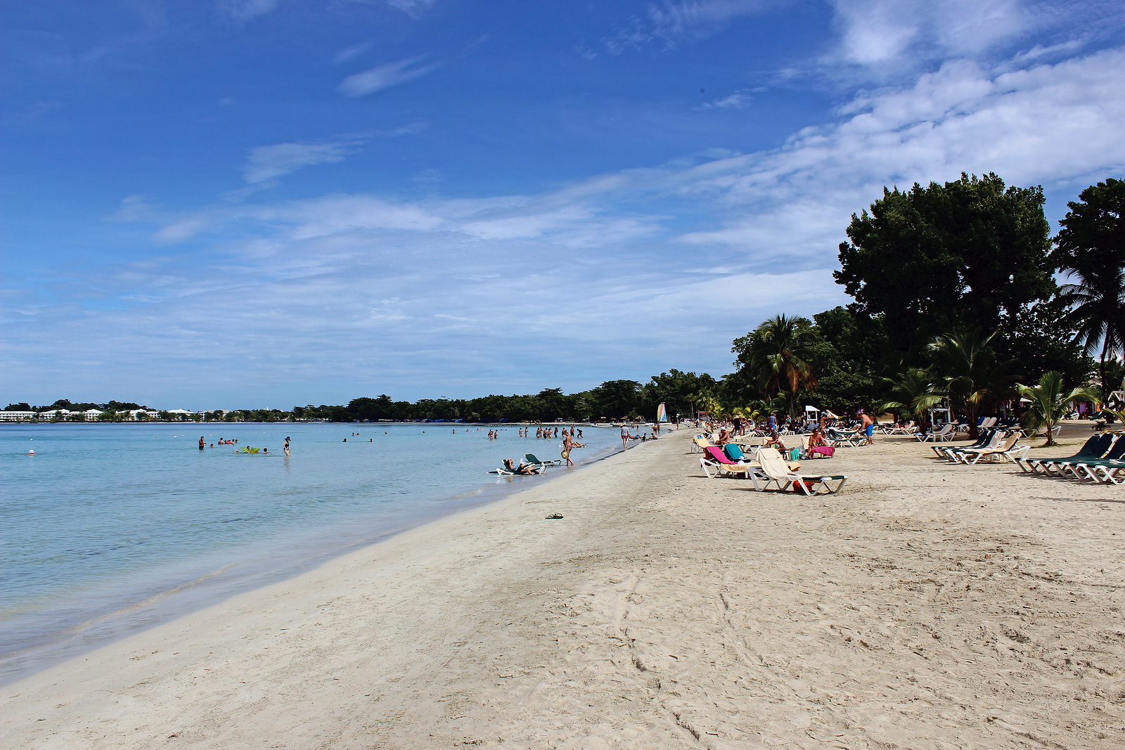 Bloody Bay Beach in Negril Jamaica
