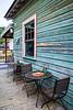 A small outdoor restaurant in Ocho Rios, Jamaica.