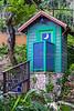 An outdoor toilet in Ocho Rios, Jamaica.