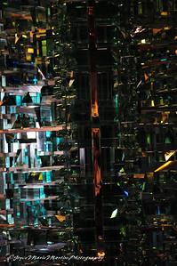 Crystal sculture in Atrium