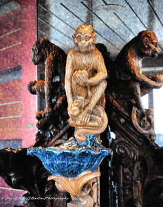 Monkey Sculpture