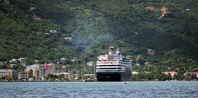 Maasdam at Tortola, B.V.I.