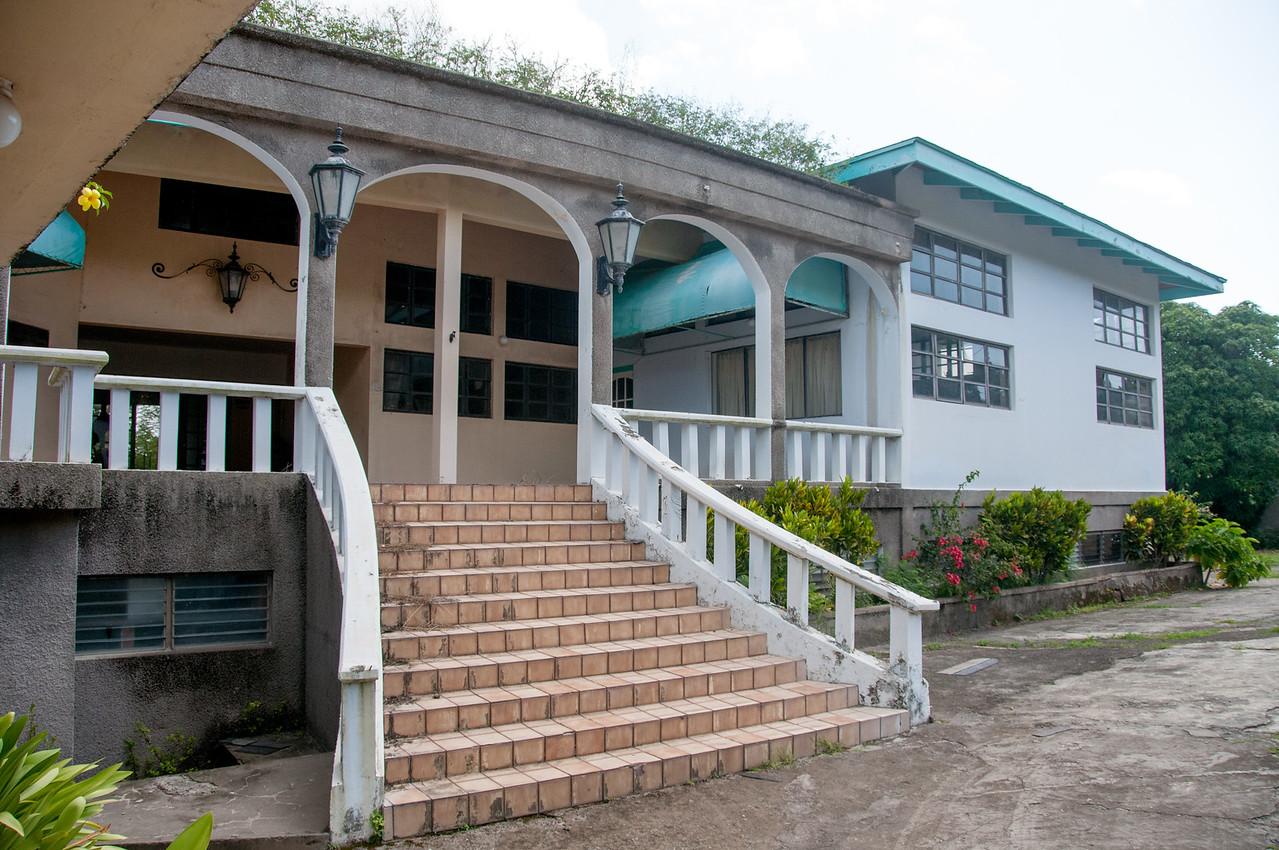 Staircase to resort in Montserrat