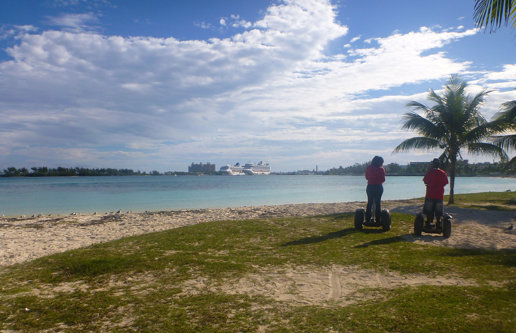 Segway tour of Nassau Bahamas