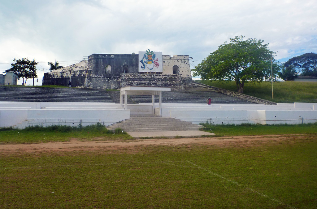 Fort Charlotte in Nassau Bahamas