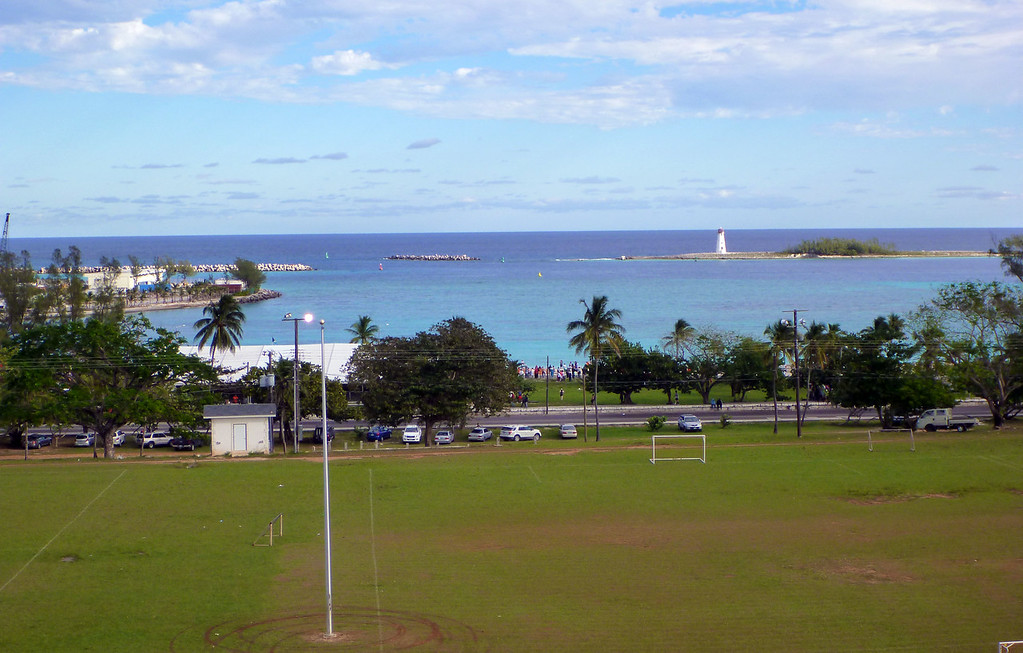 Views from Fort Charlotte Nassau