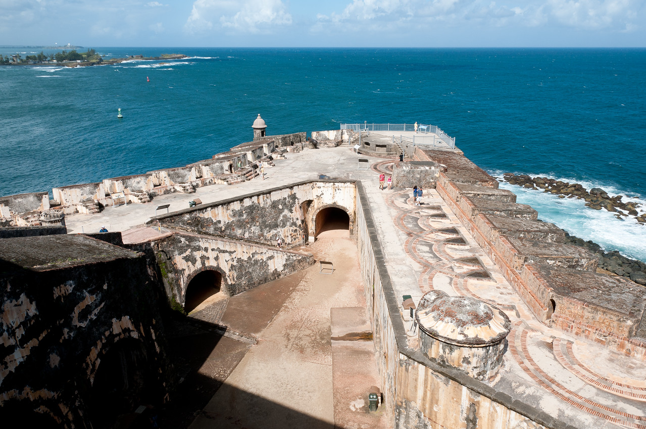 La Fortaleza and San Juan National Historic Site in Puerto Rico