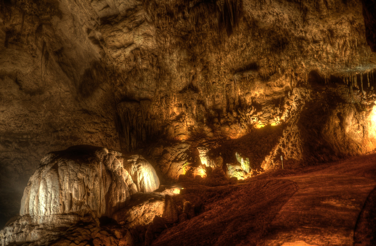 Inside Camuy River Cave Park - Puerto Rico