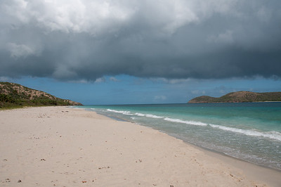 Flamenco Beach on the island of Culebra, Puerto Rico
