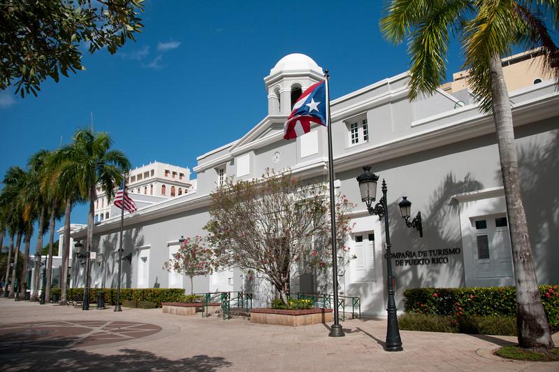 The Puerto Rico Tourism Company in San Juan, Puerto Rico
