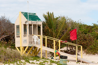 Lifeguard station at Flamenco Beach - Puerto Rico