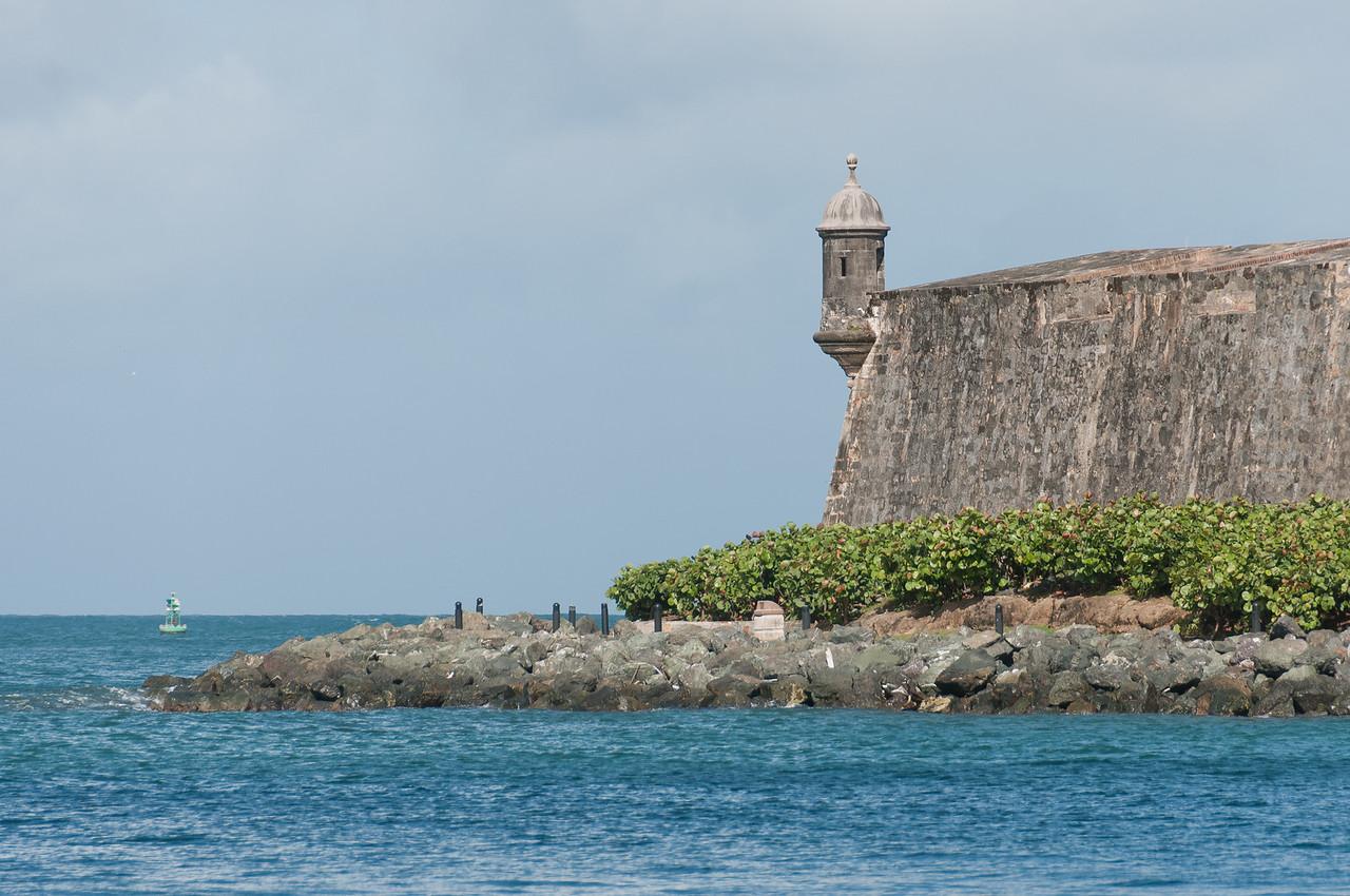 El Morro's Garita, San Juan, Puerto Rico