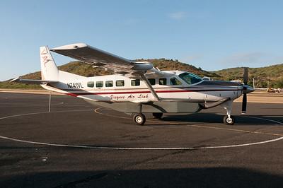 Jet plane in Puerto Rico