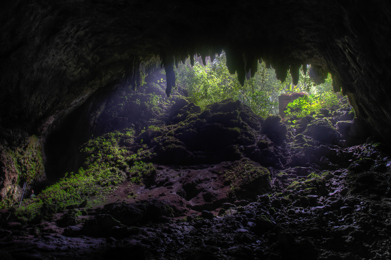 Inside Camuy Cave in Puerto Rico