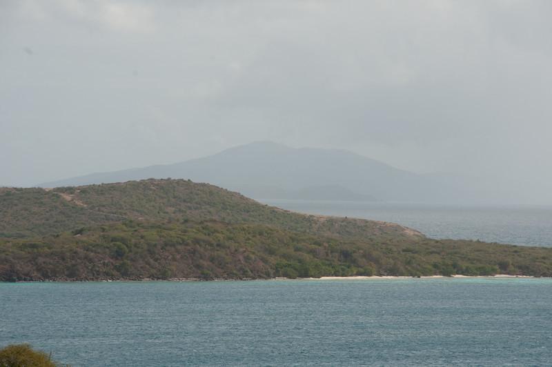 The island of Culebrita as seen from Culebra, Puerto Rico