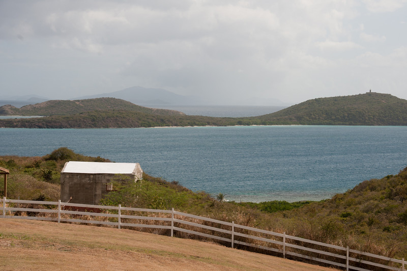 The island of Culebrita as seen from Culebra, Puerto Rico