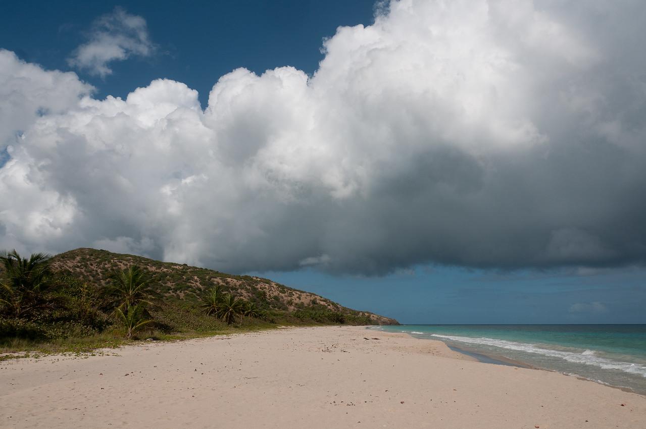 Flamenco Beach on the island of Culebra, Puerto Rico